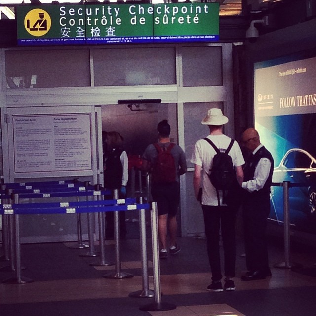 Stone's off to conquer the world! Well, S.E. Asia for 2 months.