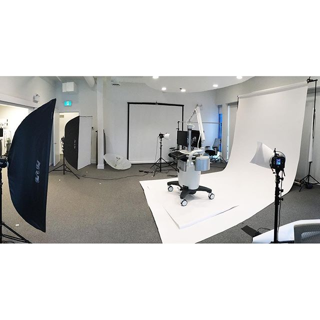 Fun shoot at Novadaq with some pretty high tech life saving equipment. @famousbtsmagazine