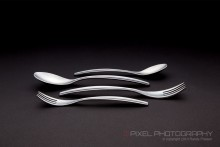Flatware product photo