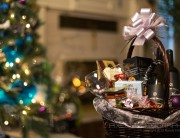 Christmas Basket Product Shot